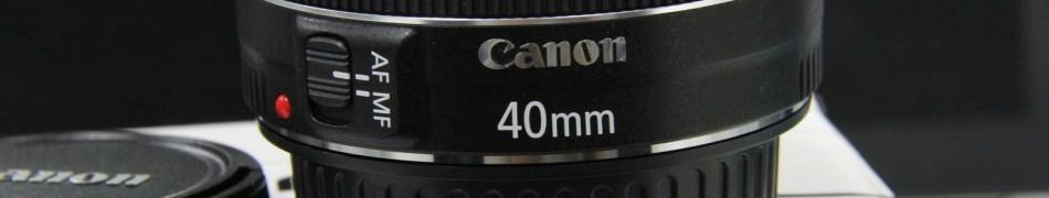 镜头 – 佳能 EF 40mm f/2.8 STM 开箱