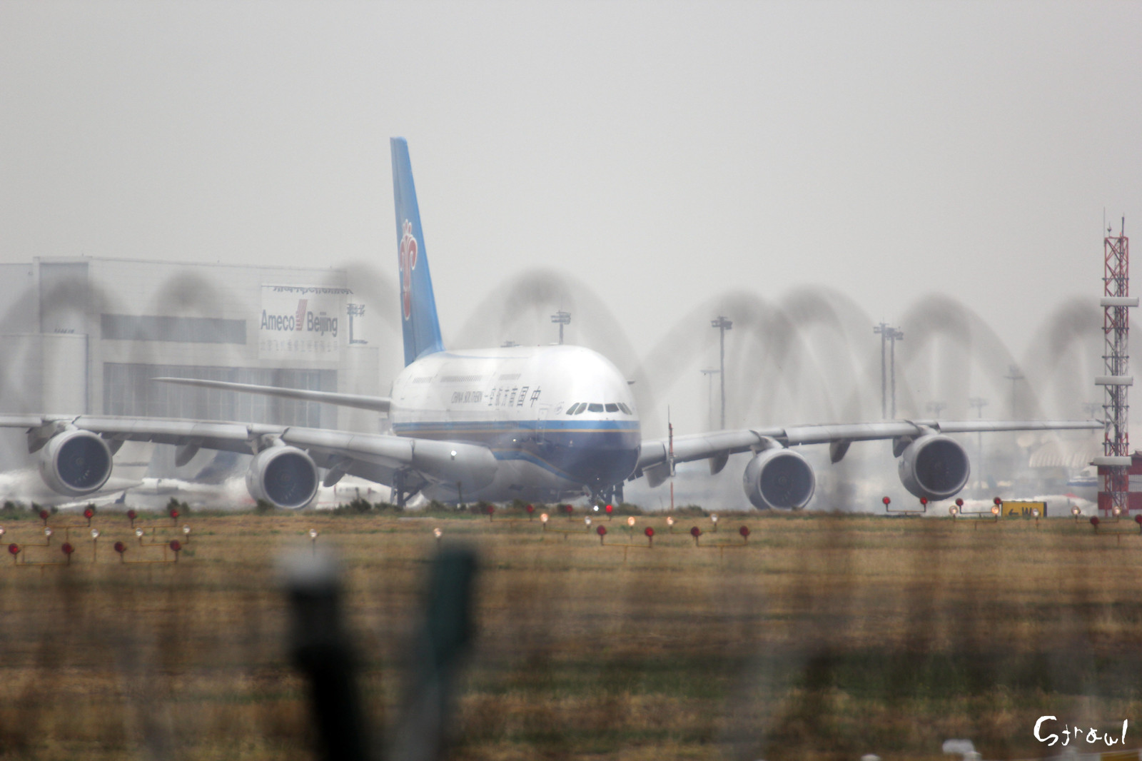 CZ3000(B-6136/CSN3000),Beijing Capital Int'l (ZBAA / PEK) - 廣州白雲國際機場 (ZGGG / CAN)
