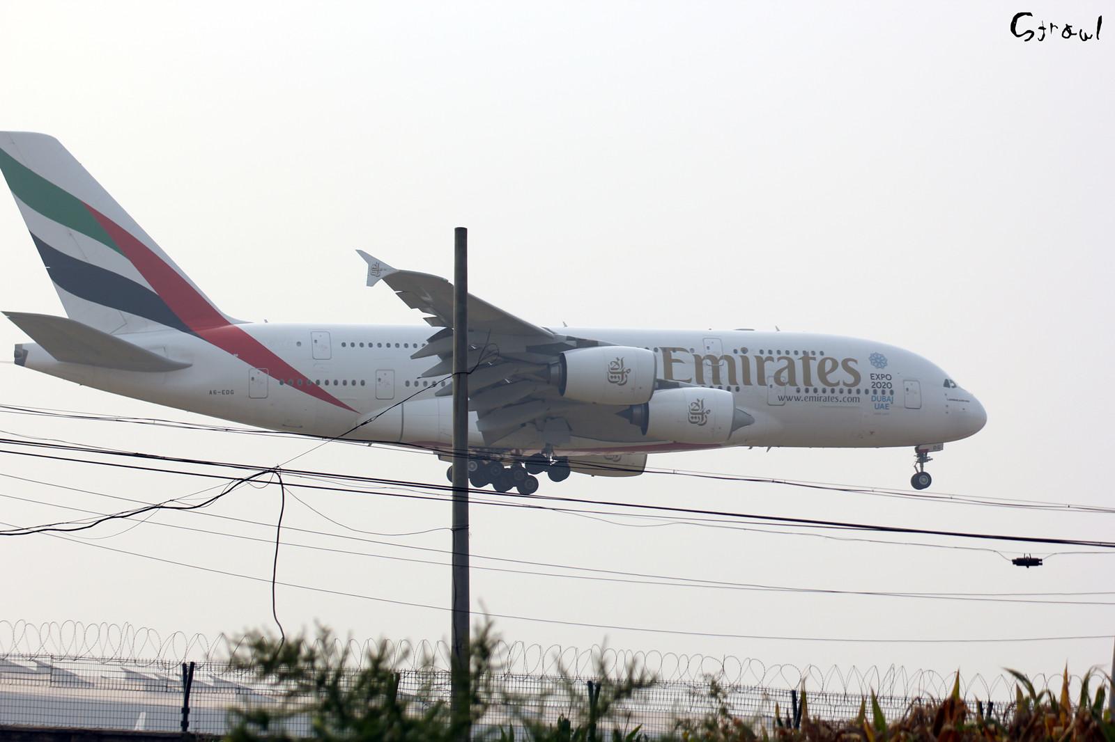 A6-EDG/UAE306 ✈ 2014年 09月 20日 ✈ OMDB / DXB - ZBAA / PEK