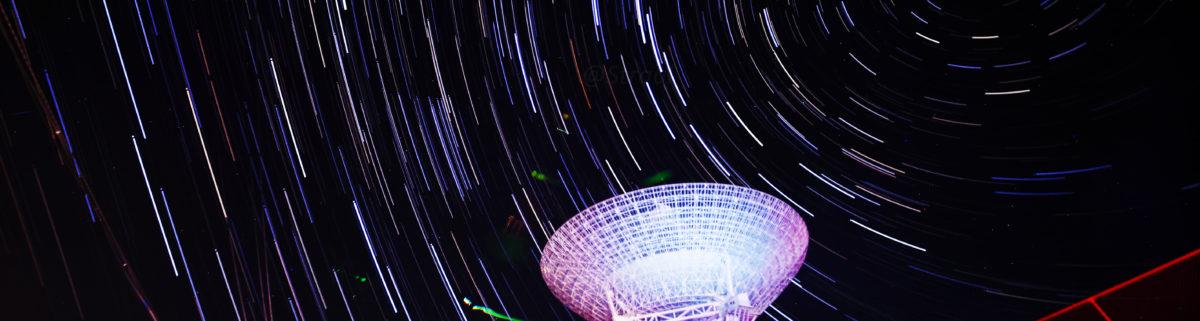 拍片儿 – 北京密云不老屯、北京天文台密云观测站,星空,星轨